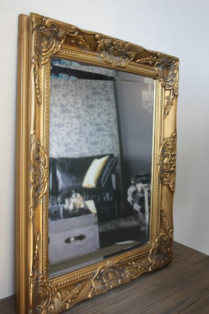 spiegel wandspiegel barock gold antik holz landhaus. Black Bedroom Furniture Sets. Home Design Ideas