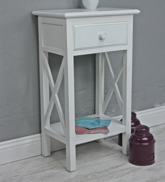 tisch telefontisch antik wei barock holz landhaus. Black Bedroom Furniture Sets. Home Design Ideas
