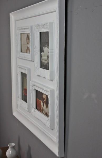 bilderrahmen collage wei antik neu wandrahmen rahmen landhaus fotorahmen ebay. Black Bedroom Furniture Sets. Home Design Ideas