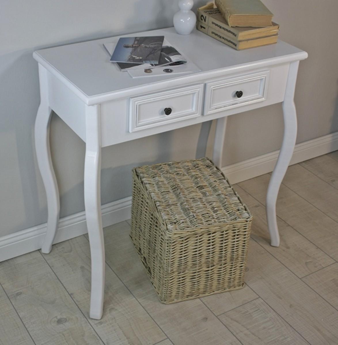 konsolentisch holz wei landhaus. Black Bedroom Furniture Sets. Home Design Ideas