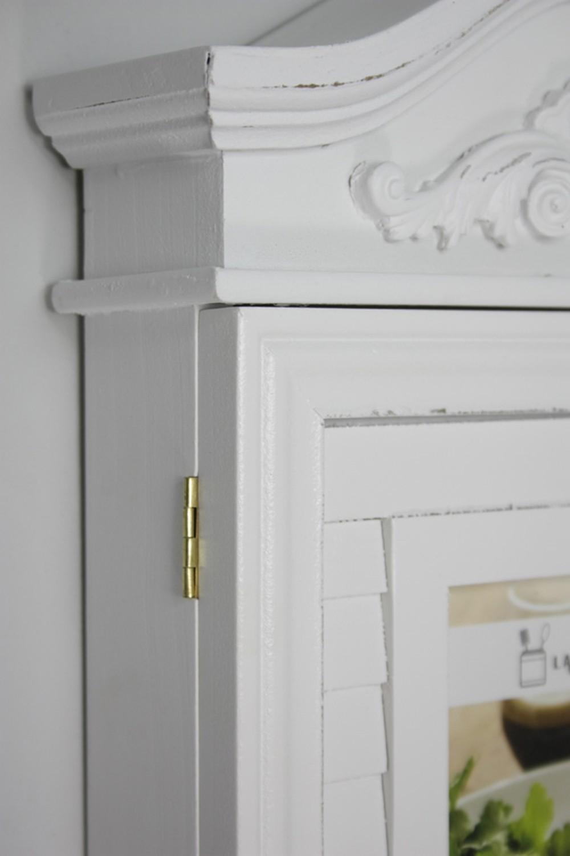 schl sselkasten mit foto t r schl sselschrank wei antik landhaus rosali holz ebay. Black Bedroom Furniture Sets. Home Design Ideas