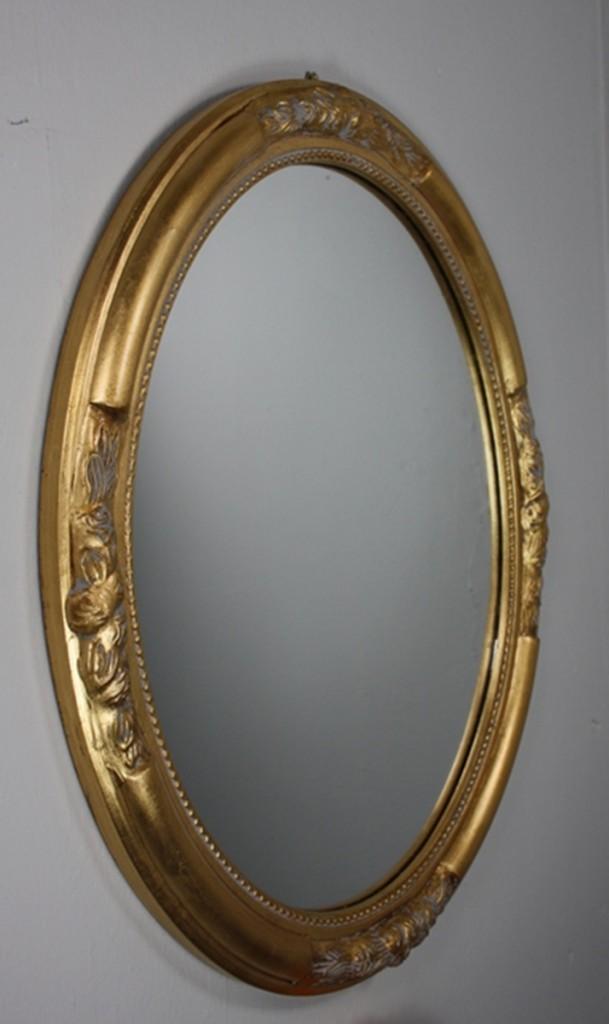 wandspiegel spiegel oval neu gold antik holz verzierungen. Black Bedroom Furniture Sets. Home Design Ideas