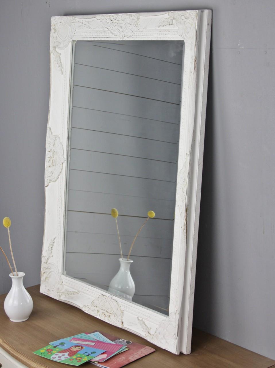 spiegel wei 82cm barock holz. Black Bedroom Furniture Sets. Home Design Ideas
