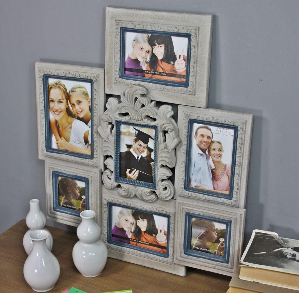 bilderrahmen braun collage holz barock. Black Bedroom Furniture Sets. Home Design Ideas