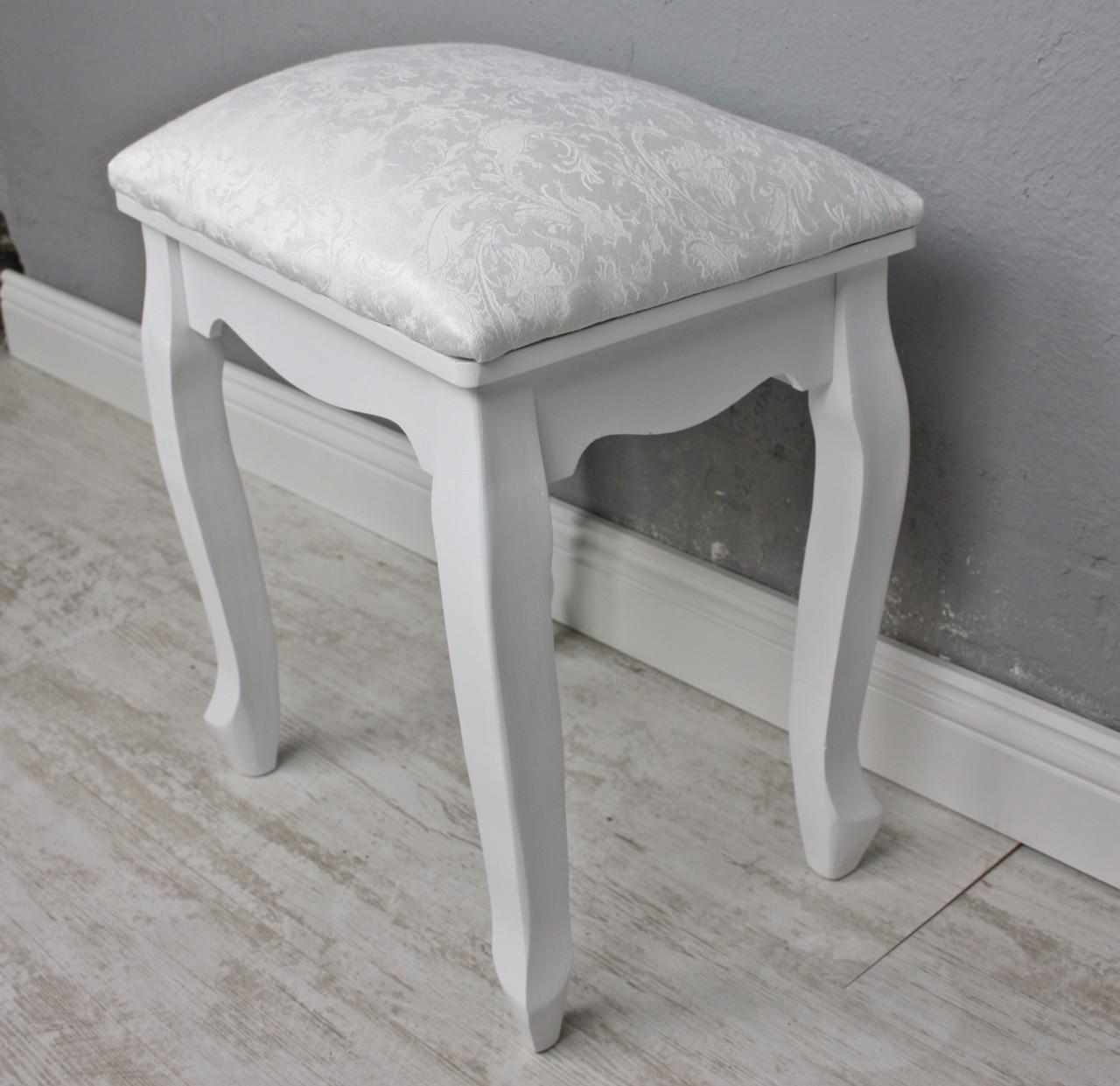 hocker schemel wei holz. Black Bedroom Furniture Sets. Home Design Ideas