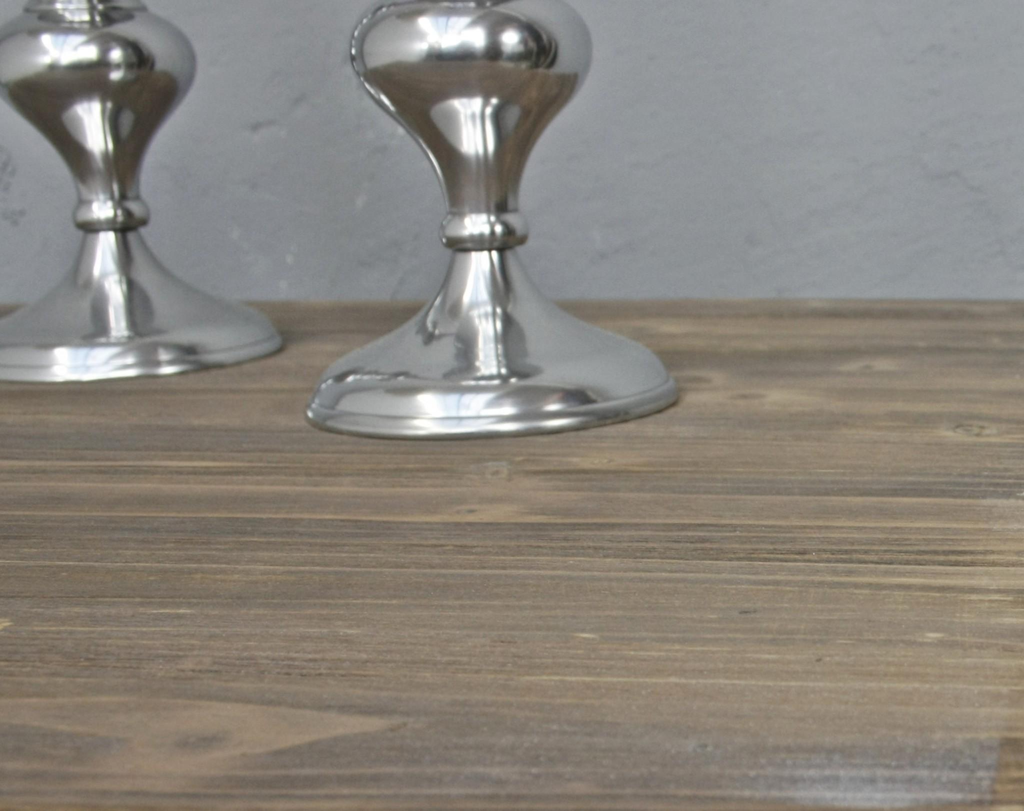 Couchtisch braun weiß Holz