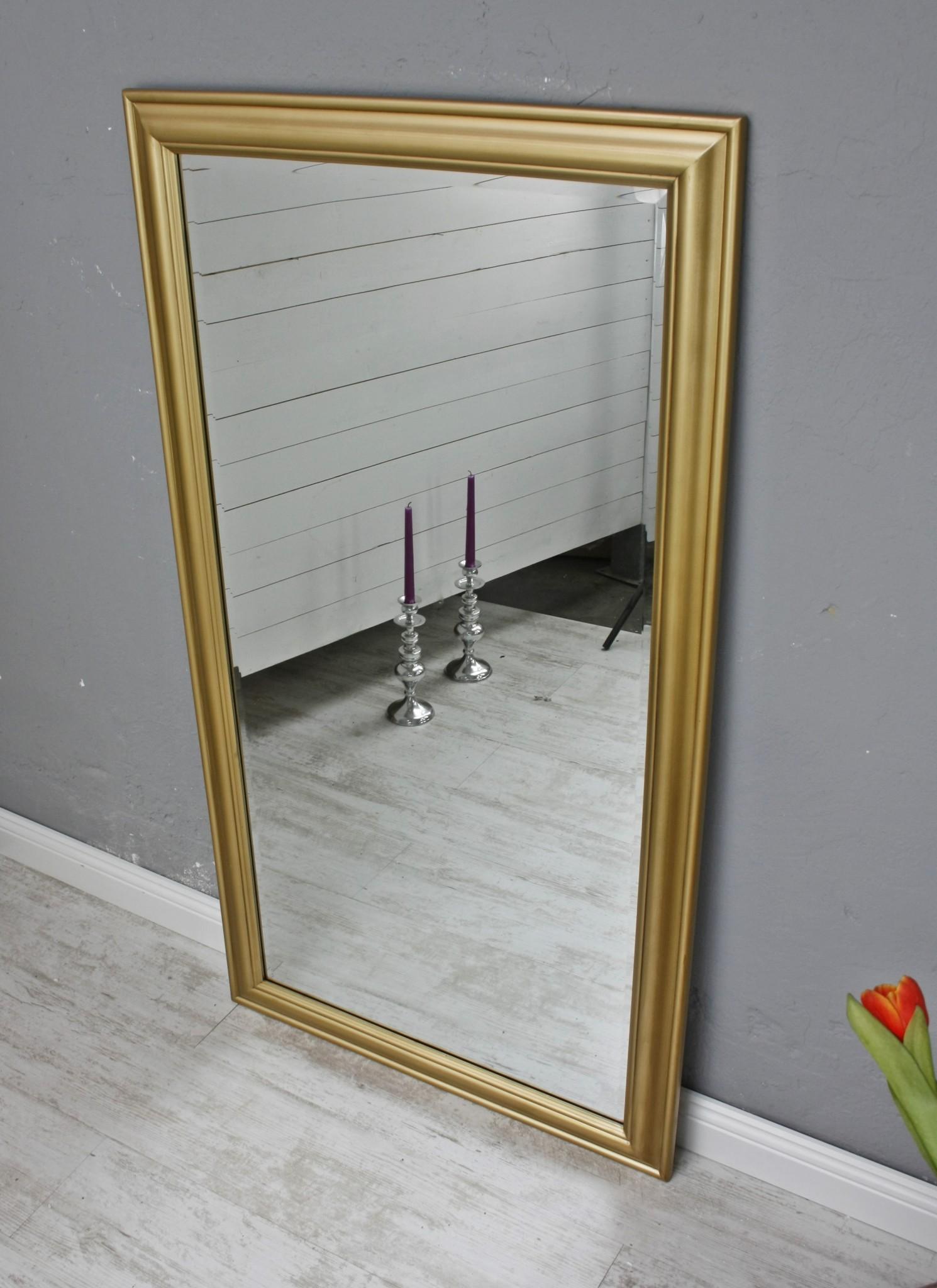 Spiegel gold schlicht 132cm - Spiegel gold ikea ...