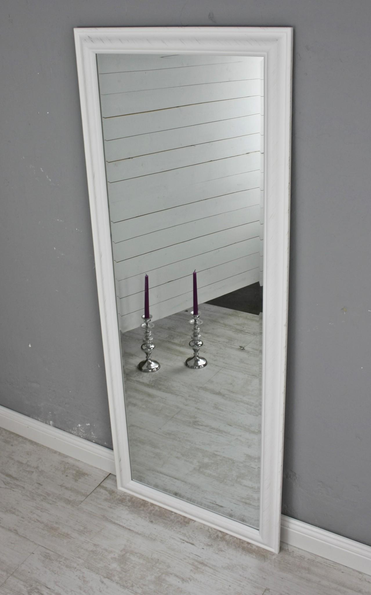 spiegel wei schlicht 150cm. Black Bedroom Furniture Sets. Home Design Ideas