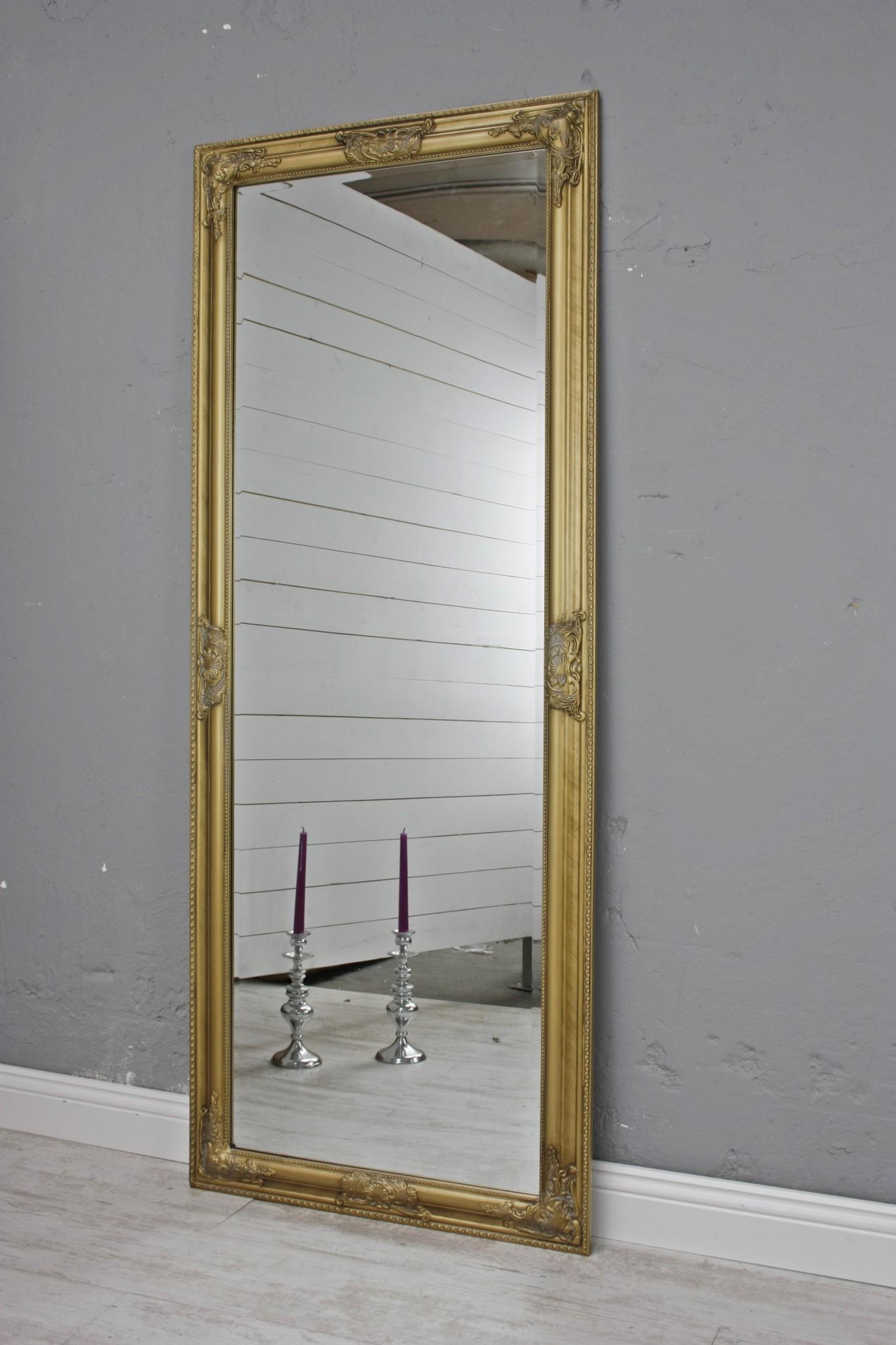 spiegel gold barock 150cm. Black Bedroom Furniture Sets. Home Design Ideas