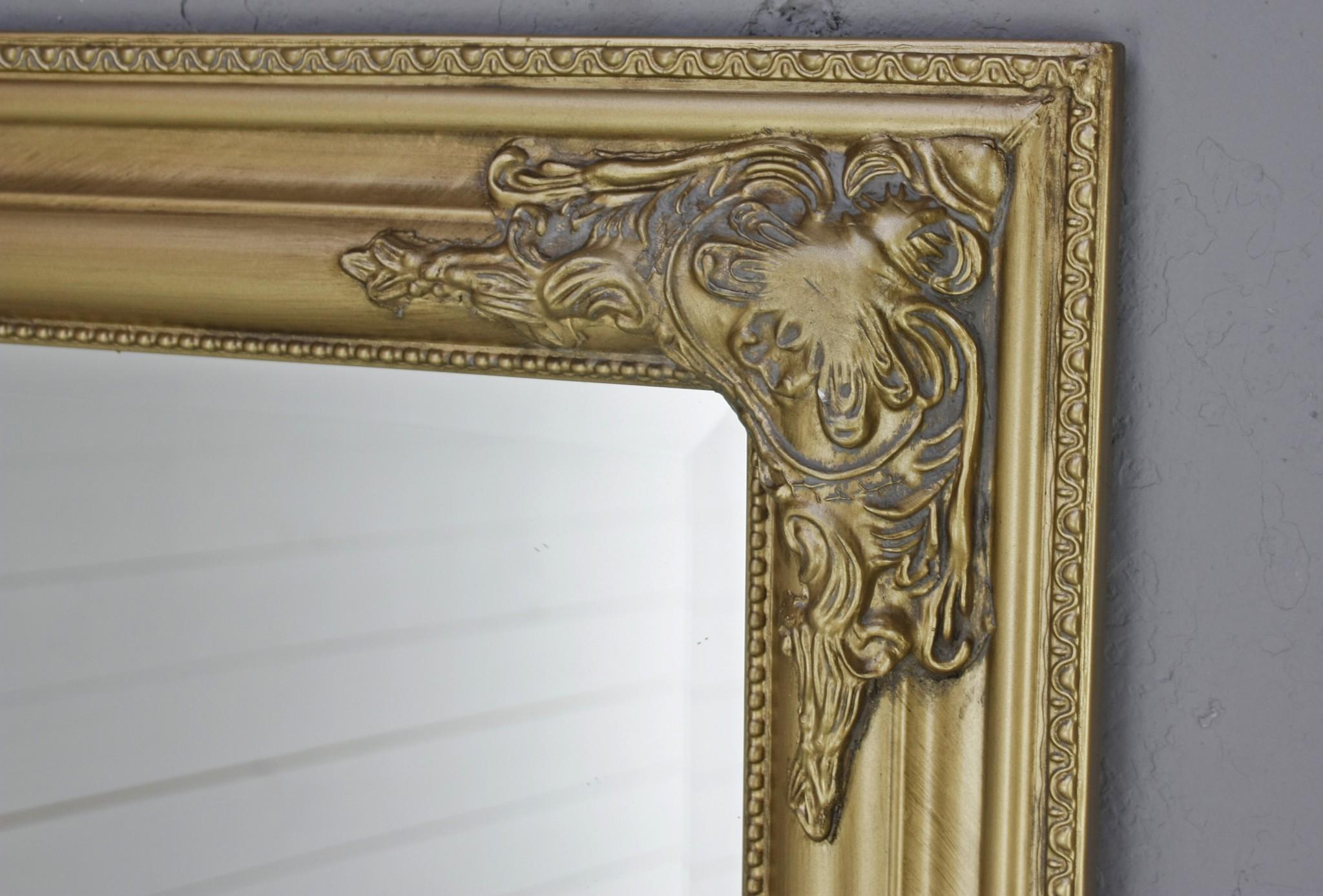 spiegel gold barock 162cm. Black Bedroom Furniture Sets. Home Design Ideas