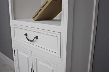 k chenregal regal wei holz b cherregal. Black Bedroom Furniture Sets. Home Design Ideas